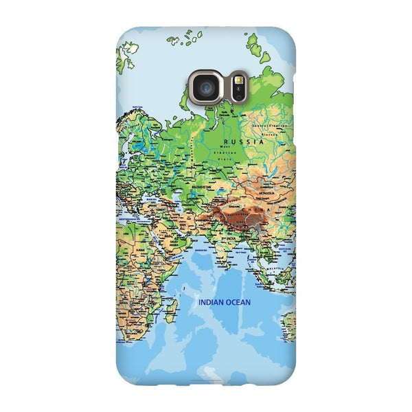 World Map Europe & Asia Smartphone Case-Gooten-Samsung S6 Edge Plus-| All-Over-Print Everywhere - Designed to Make You Smile