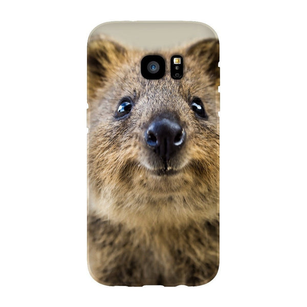 Quokka Face Smartphone Case-Gooten-Samsung S7 Edge-| All-Over-Print Everywhere - Designed to Make You Smile