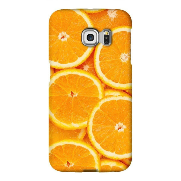 Oranges Invasion Smartphone Case-Gooten-Samsung S6 Edge-| All-Over-Print Everywhere - Designed to Make You Smile