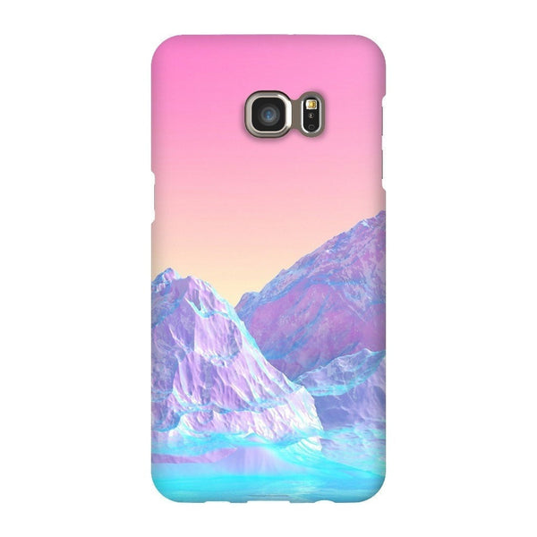 Pastel Mountains Smartphone Case-Gooten-Samsung Galaxy S6 Edge Plus-| All-Over-Print Everywhere - Designed to Make You Smile