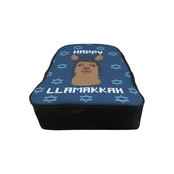 Happy Llamakkah Backpack-Printify-| All-Over-Print Everywhere - Designed to Make You Smile