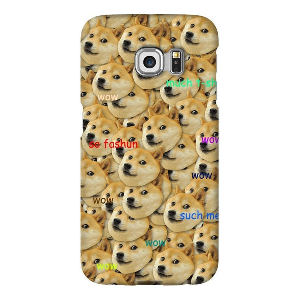 "Doge ""Much Fashun"" Invasion Smartphone Case-Gooten-Samsung S6 Edge-