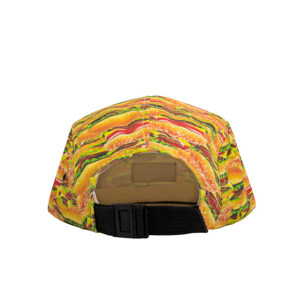 Hamburger Invasion Hat-Shelfies-One Size Fits All-| All-Over-Print Everywhere - Designed to Make You Smile