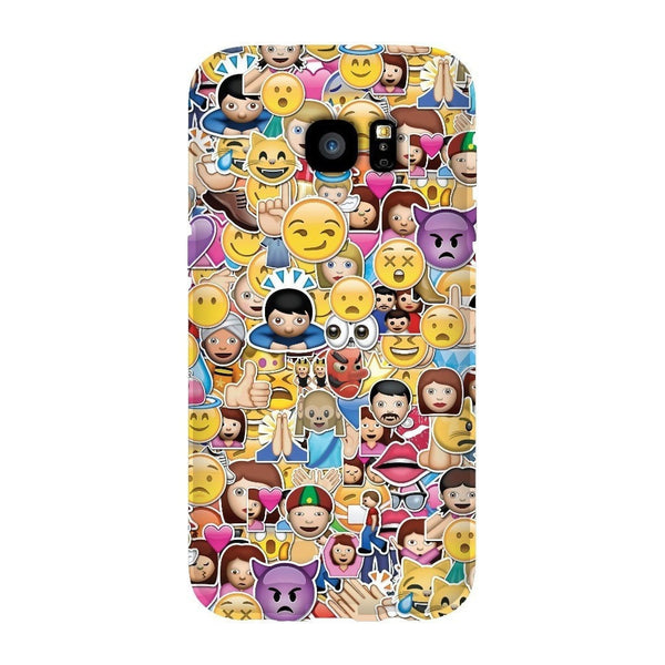 Emoji Invasion Smartphone Case-Gooten-Samsung Galaxy S7 Edge-| All-Over-Print Everywhere - Designed to Make You Smile