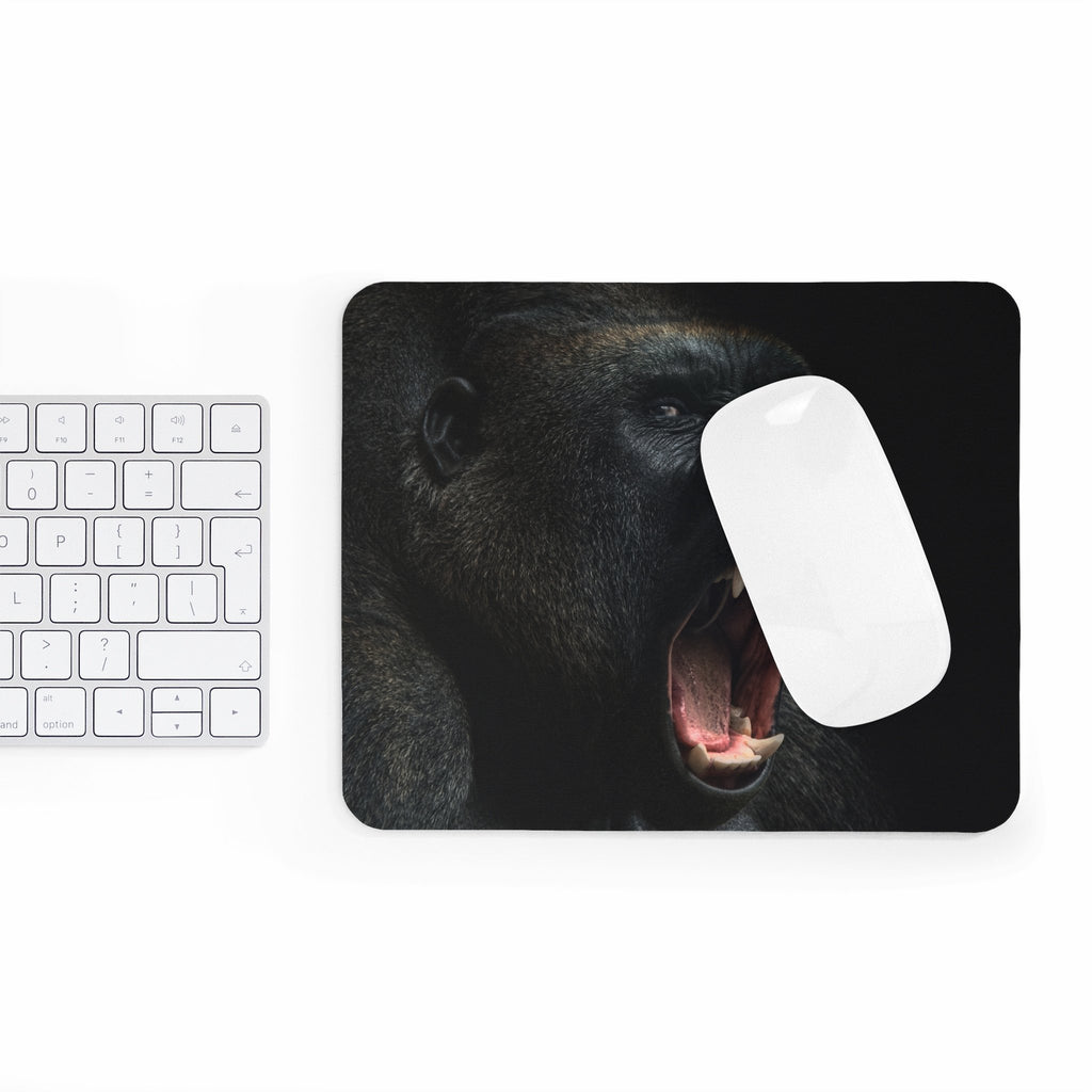 Gorilla Mousepad-Printify-Rectangle-| All-Over-Print Everywhere - Designed to Make You Smile
