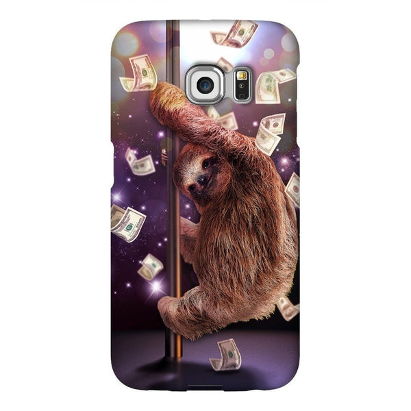 Stripper Sloth Smartphone Case-Gooten-Samsung Galaxy S6 Edge-| All-Over-Print Everywhere - Designed to Make You Smile