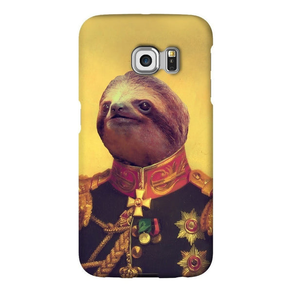 Lil' General Sloth Smartphone Case-Gooten-Samsung S6 Edge-| All-Over-Print Everywhere - Designed to Make You Smile