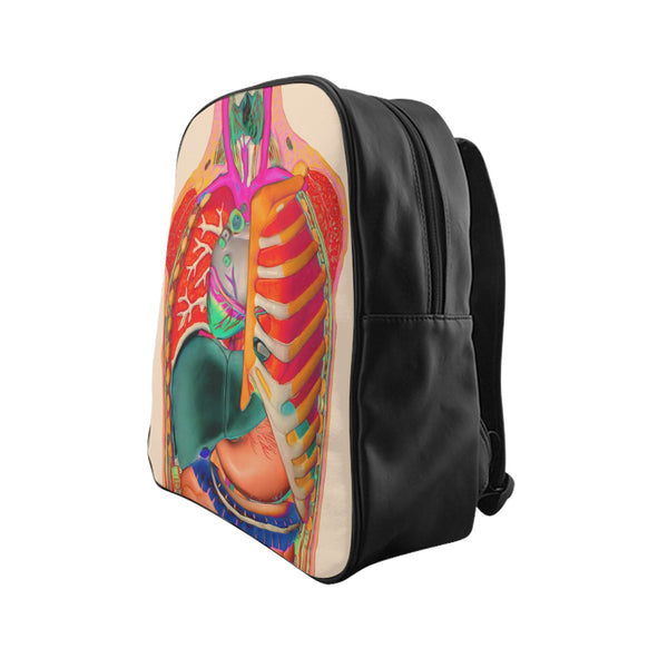 Anatomy Backpack-Printify-| All-Over-Print Everywhere - Designed to Make You Smile
