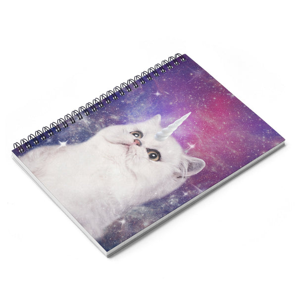 Unikitty Spiral Notebook-Printify-| All-Over-Print Everywhere - Designed to Make You Smile