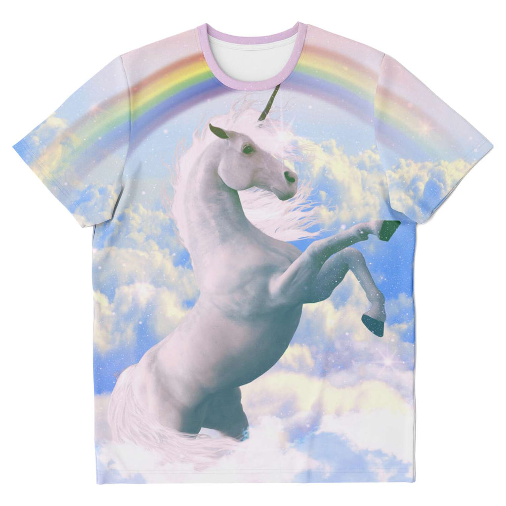 Magical Unicorn T-Shirt-Subliminator-XS-| All-Over-Print Everywhere - Designed to Make You Smile