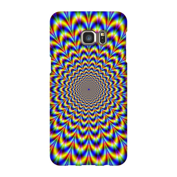 Fractal Pulse Smartphone Case-Gooten-Samsung Galaxy S6 Edge Plus-| All-Over-Print Everywhere - Designed to Make You Smile