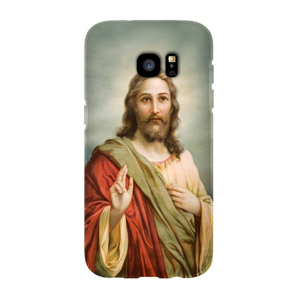 Holy Jesus Smartphone Case-Gooten-Samsung S7 Edge-| All-Over-Print Everywhere - Designed to Make You Smile