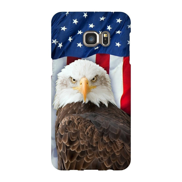 Bald Eagle Smartphone Case-Gooten-Samsung S6 Edge Plus-| All-Over-Print Everywhere - Designed to Make You Smile