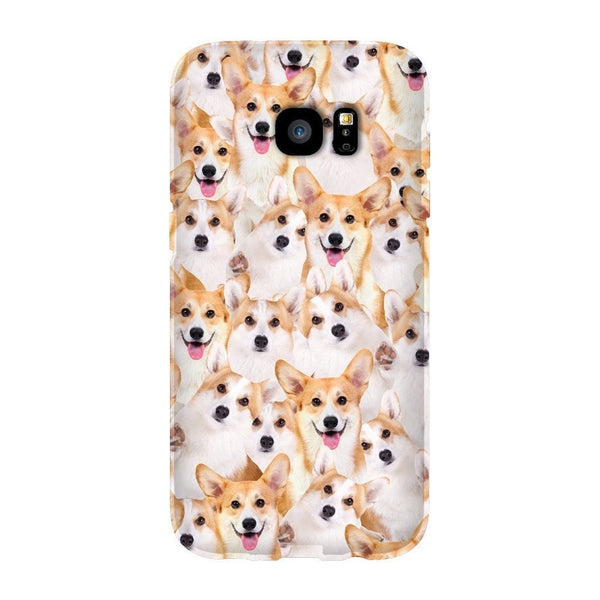 Corgi Invasion Smartphone Case-Gooten-Samsung S7 Edge-| All-Over-Print Everywhere - Designed to Make You Smile