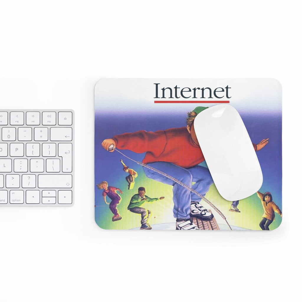 Internet Kids Mousepad-Printify-Rectangle-| All-Over-Print Everywhere - Designed to Make You Smile