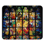 Stained Glass Mousepad-Printify-Rectangle-| All-Over-Print Everywhere - Designed to Make You Smile