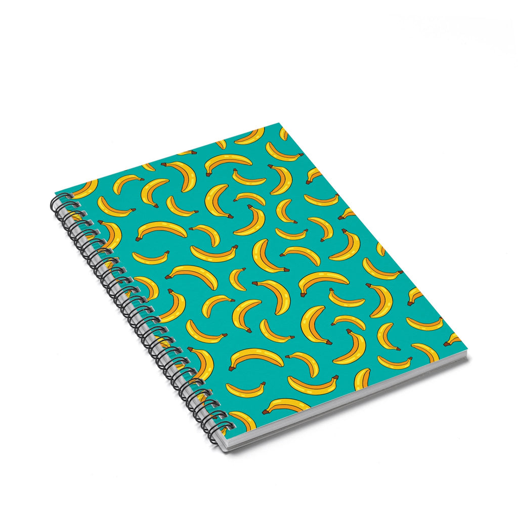 Banana Life Spiral Notebook-Printify-Spiral Notebook-| All-Over-Print Everywhere - Designed to Make You Smile
