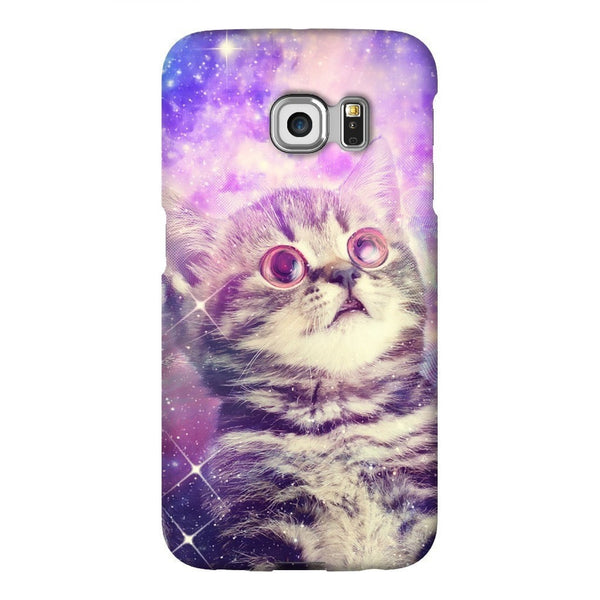 Trippin' Kitty Kat Smartphone Case-Gooten-Samsung Galaxy S6 Edge-| All-Over-Print Everywhere - Designed to Make You Smile