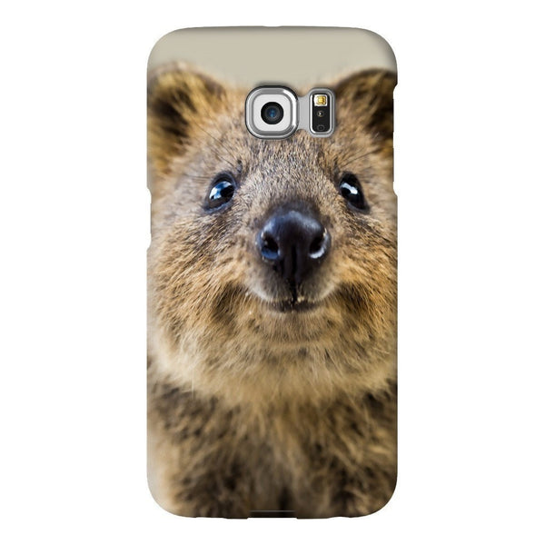 Quokka Face Smartphone Case-Gooten-Samsung S6 Edge-| All-Over-Print Everywhere - Designed to Make You Smile