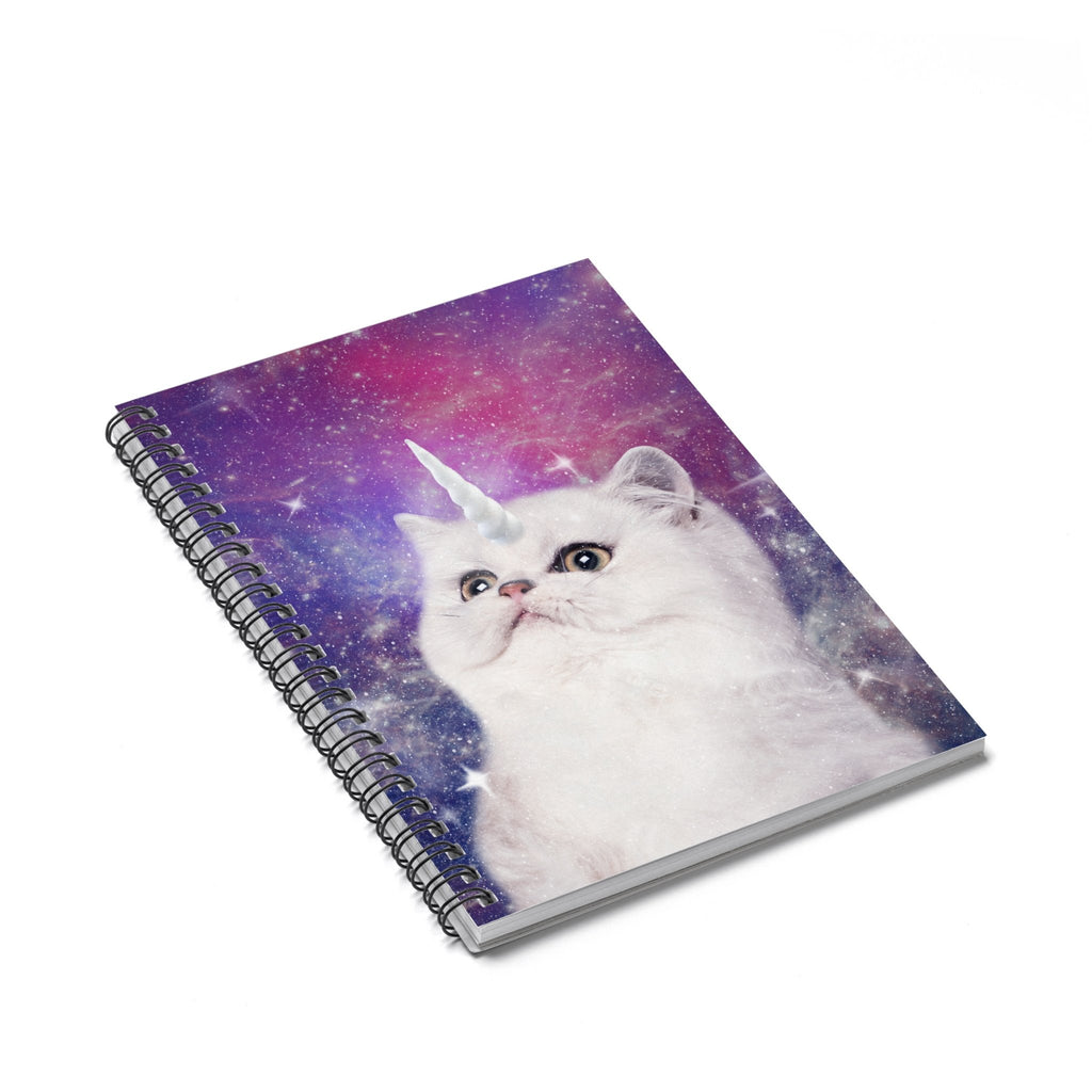Unikitty Spiral Notebook-Printify-Spiral Notebook-| All-Over-Print Everywhere - Designed to Make You Smile