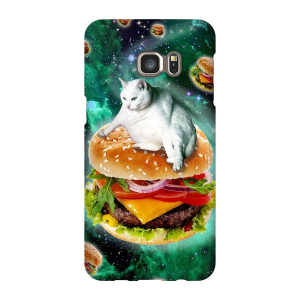 Hamburger Cat Smartphone Case-Gooten-Samsung Galaxy S6 Edge Plus-| All-Over-Print Everywhere - Designed to Make You Smile