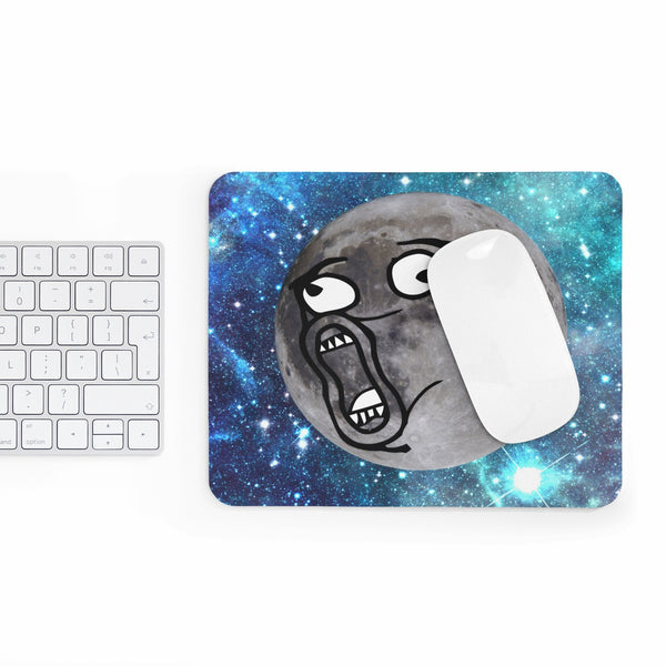 LOL Moon Face Mousepad-Printify-Rectangle-| All-Over-Print Everywhere - Designed to Make You Smile