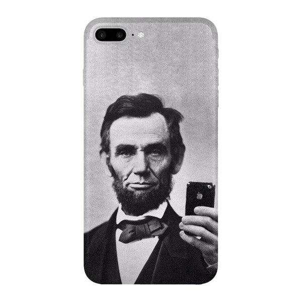 Abraham Lincoln Selfie Smartphone Case-Gooten-iPhone 7 Plus-| All-Over-Print Everywhere - Designed to Make You Smile