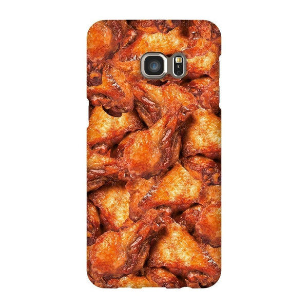 Chicken Wings Invasion Smartphone Case-Gooten-Samsung S6 Edge Plus-| All-Over-Print Everywhere - Designed to Make You Smile
