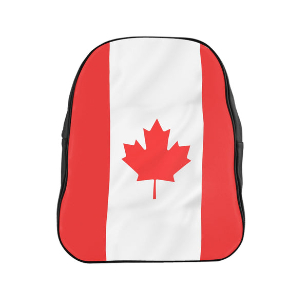 Canadian Flag Backpack-Printify-Large-| All-Over-Print Everywhere - Designed to Make You Smile