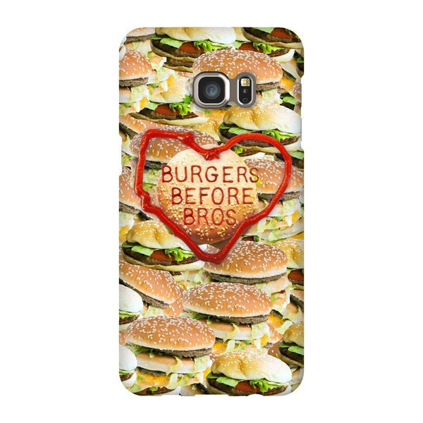 Burgers Before Bros Smartphone Case-Gooten-Samsung S6 Edge Plus-| All-Over-Print Everywhere - Designed to Make You Smile