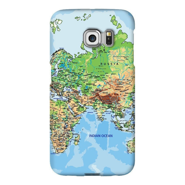 World Map Europe & Asia Smartphone Case-Gooten-Samsung S6 Edge-| All-Over-Print Everywhere - Designed to Make You Smile