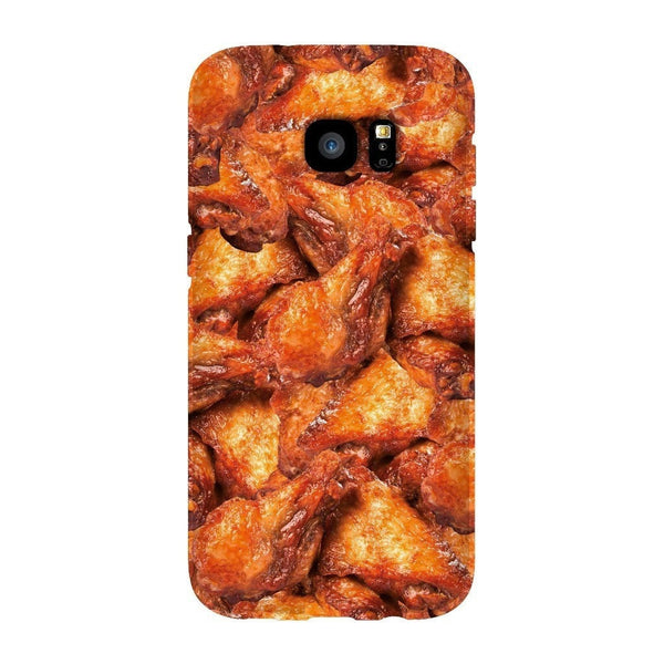 Chicken Wings Invasion Smartphone Case-Gooten-Samsung S7 Edge-| All-Over-Print Everywhere - Designed to Make You Smile