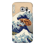 Great Wave of Cookie Monster Smartphone Case-Gooten-Samsung Galaxy S6 Edge-| All-Over-Print Everywhere - Designed to Make You Smile