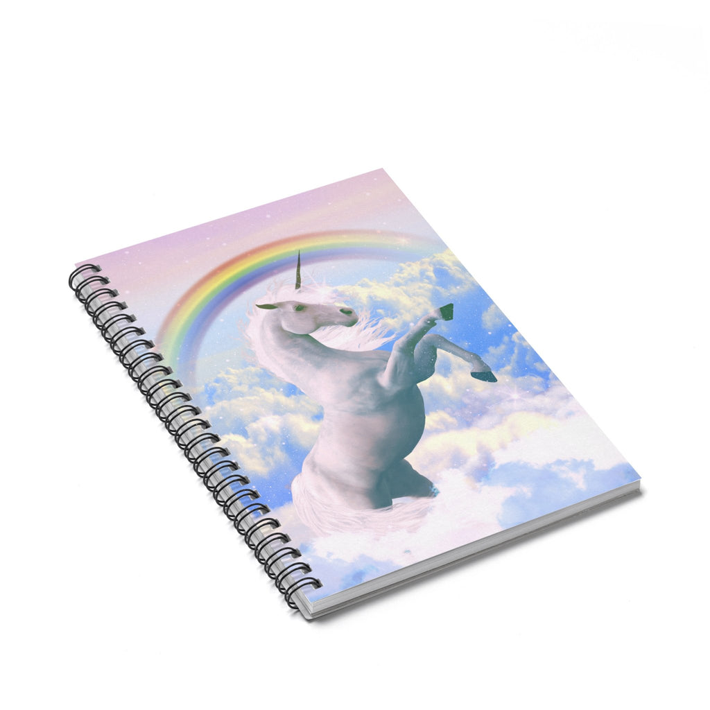 Magical Unicorn Spiral Notebook-Printify-Spiral Notebook-| All-Over-Print Everywhere - Designed to Make You Smile