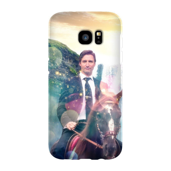 Dreamy Trudeau Smartphone Case-Gooten-Samsung Galaxy S7 Edge-| All-Over-Print Everywhere - Designed to Make You Smile