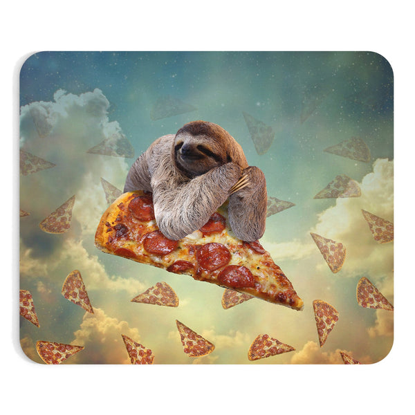 Sloth Pizza Mousepad-Printify-| All-Over-Print Everywhere - Designed to Make You Smile
