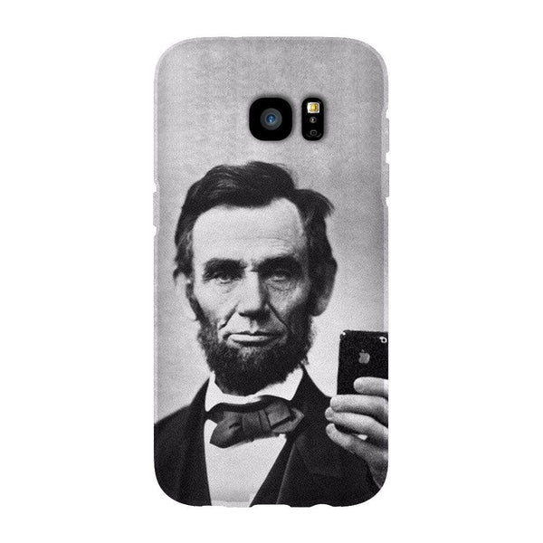 Abraham Lincoln Selfie Smartphone Case-Gooten-Samsung S7 Edge-| All-Over-Print Everywhere - Designed to Make You Smile