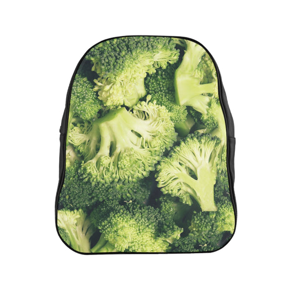 Broccoli Invasion Backpack-Printify-| All-Over-Print Everywhere - Designed to Make You Smile