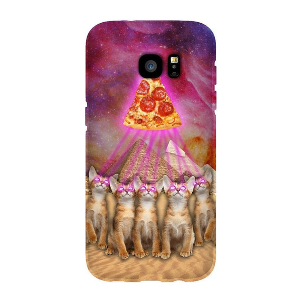 The Great Pyramid of Pizza Smartphone Case-Gooten-Samsung S7 Edge-| All-Over-Print Everywhere - Designed to Make You Smile