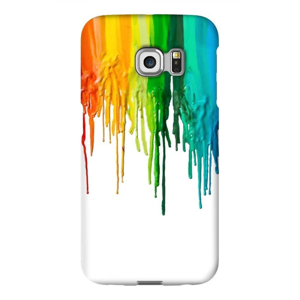 Melted Crayon Smartphone Case-Gooten-Samsung S6 Edge-| All-Over-Print Everywhere - Designed to Make You Smile