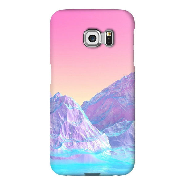 Pastel Mountains Smartphone Case-Gooten-Samsung Galaxy S6 Edge-| All-Over-Print Everywhere - Designed to Make You Smile