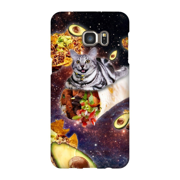 Burrito Cat Smartphone Case-Gooten-Samsung S6 Edge Plus-| All-Over-Print Everywhere - Designed to Make You Smile