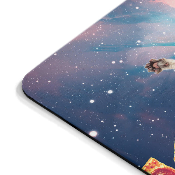 DJ Pizza Cat Mousepad-Printify-| All-Over-Print Everywhere - Designed to Make You Smile