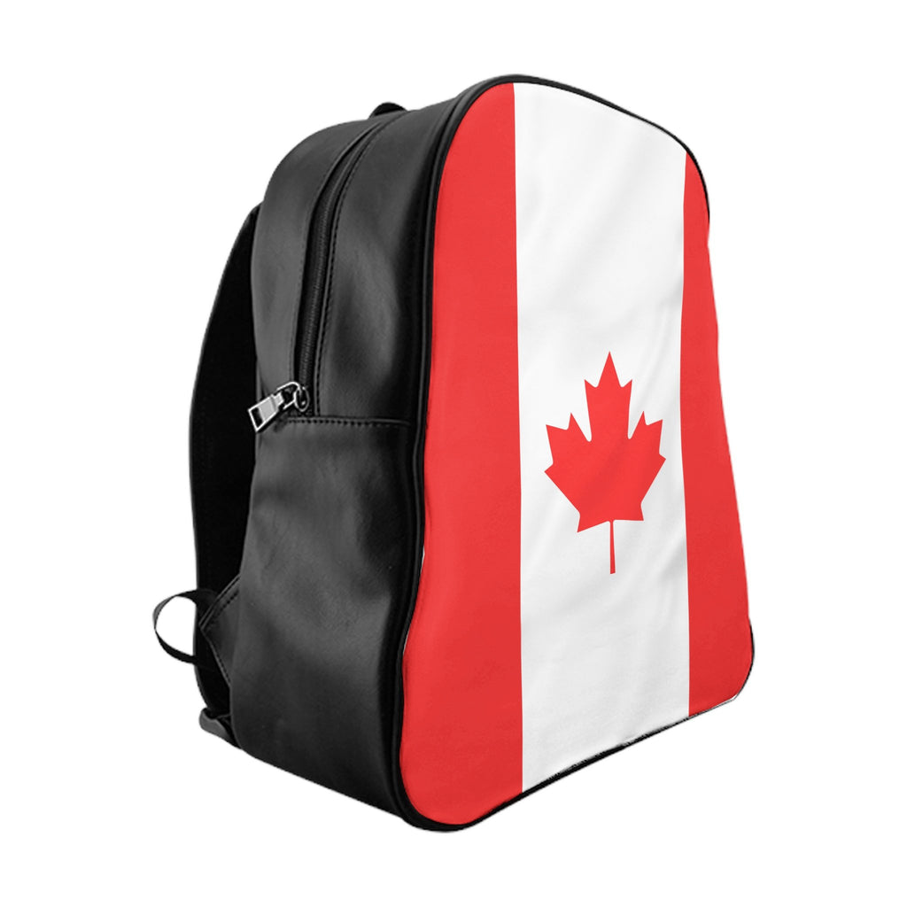 Canadian Flag Backpack Shelfies