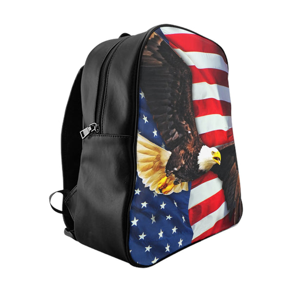 American Flag Backpack-Printify-Large-| All-Over-Print Everywhere - Designed to Make You Smile