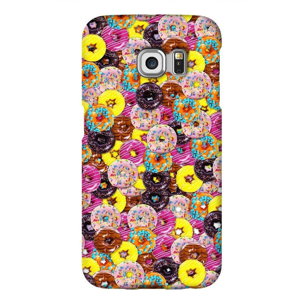 Donuts Invasion Smartphone Case-Gooten-Samsung S6 Edge-| All-Over-Print Everywhere - Designed to Make You Smile
