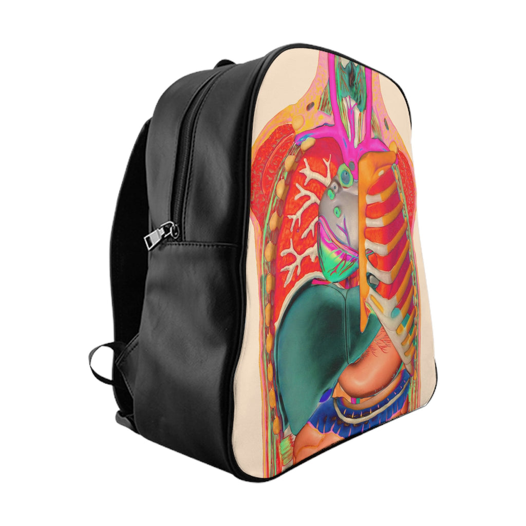 Anatomy Backpack-Printify-Large-| All-Over-Print Everywhere - Designed to Make You Smile