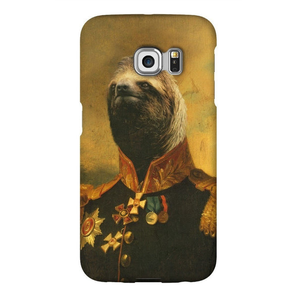 Commander Sloth Smartphone Case-Gooten-Samsung S6 Edge-| All-Over-Print Everywhere - Designed to Make You Smile