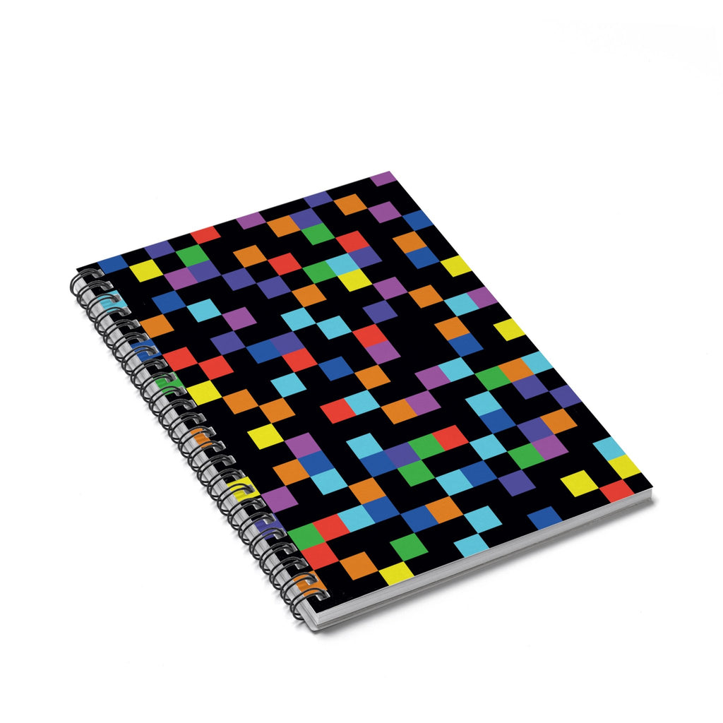 Pixel Spiral Notebook-Printify-Spiral Notebook-| All-Over-Print Everywhere - Designed to Make You Smile