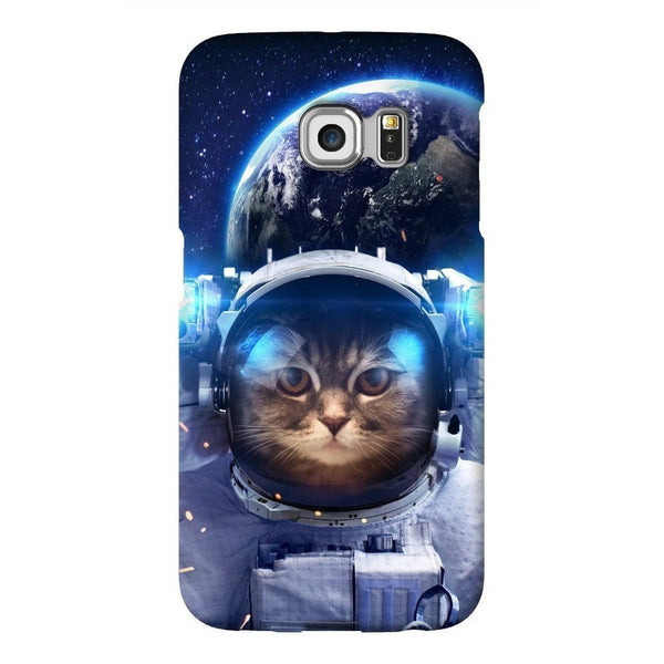 Astronaut Cat Smartphone Case-Gooten-Samsung S6 Edge-| All-Over-Print Everywhere - Designed to Make You Smile